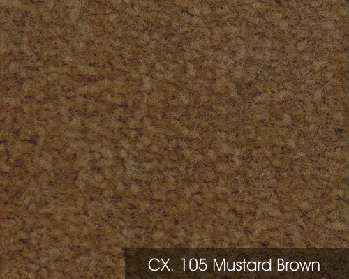 CX 105 MUSTARD BROWN