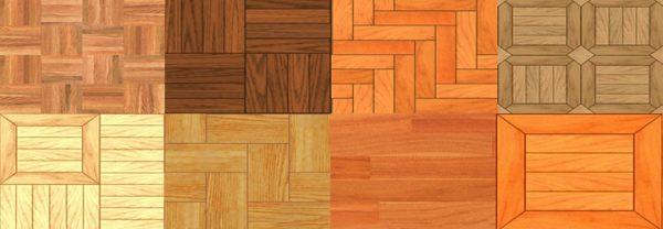 membedakan jenis parket kayu
