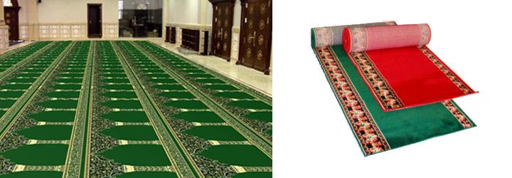 Harga Karpet Masjid Hijau Polos Jakarta Murah