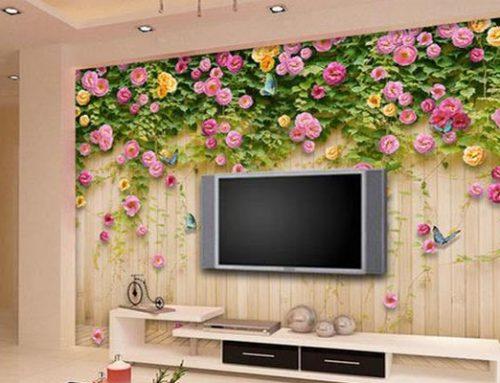 Watch Out, Ini Manfaat Memakai Wallpaper Dinding!