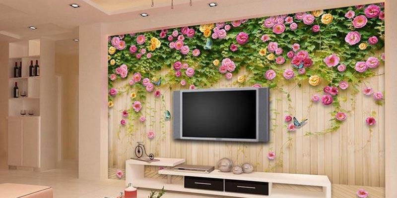 Manfaat Memakai Wallpaper Dinding