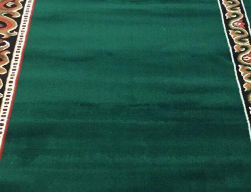 Cara Membersihkan Karpet Sajadah