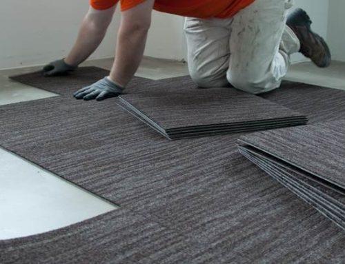 Cara Mudah Memasang Karpet Tile