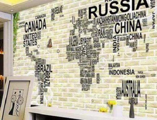 Cara Memasang Wallpaper Dinding Tanpa Lem