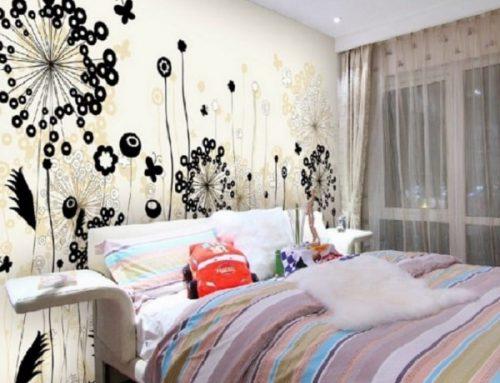 Tips Memilih Stiker Wallpaper Dinding Kamar Tidur