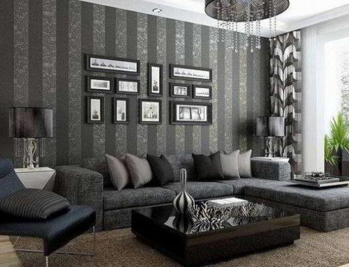 Tips Memilih Motif Wallpaper Dinding Ruang Tamu