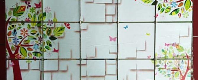 TIPS MEMILIH WALLPAPER DINDING DAPUR ANTI MINYAK DAN SEMPIT
